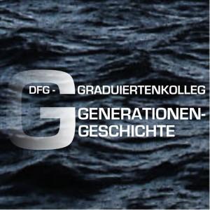 Logo des DFG-Graduiertenkollegs Generationengeschichte, 2006.