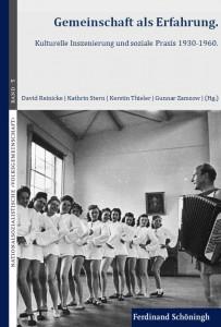 """Cover des Tagungsbandes """"Gemeinschaft als Erfahrung"""" [Paderborn 2014], Auswahl und Schnitt subthieler"""